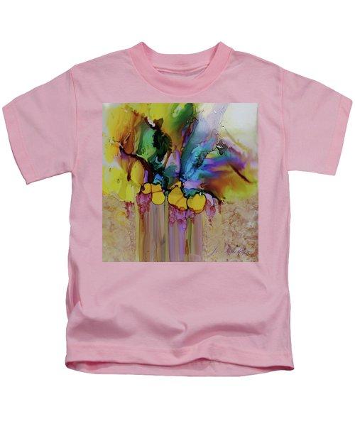 Explosion Of Petals Kids T-Shirt