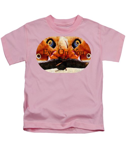Eye On You - Silk Paint Kids T-Shirt