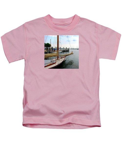 Fair Weather Annapolis  Kids T-Shirt