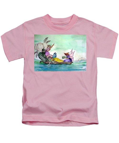 Fairies At Sea Kids T-Shirt