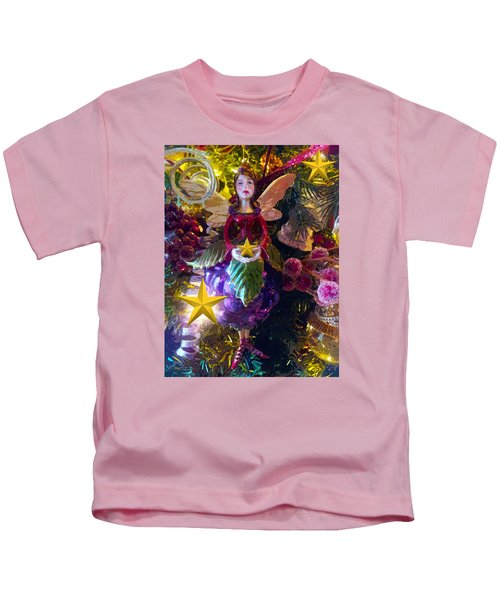 Fairy Dust Christmas Kids T-Shirt