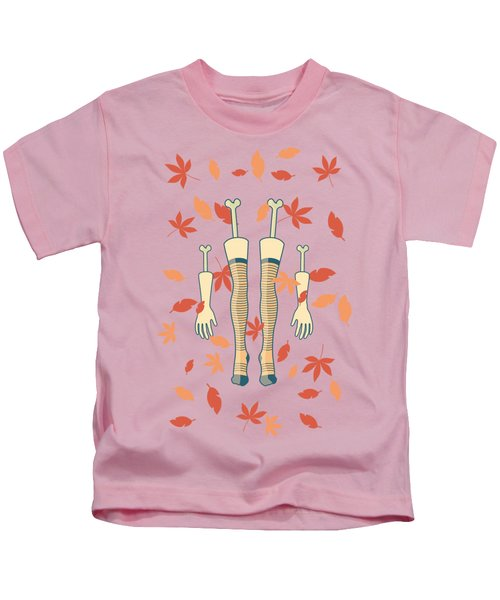 Fall In Love Kids T-Shirt