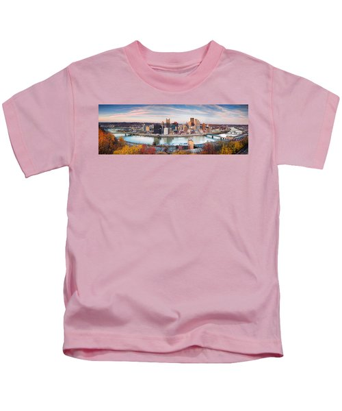 Fall In Pittsburgh  Kids T-Shirt