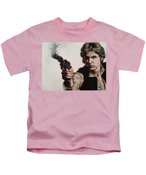 First Shot - Han Solo Kids T-Shirt