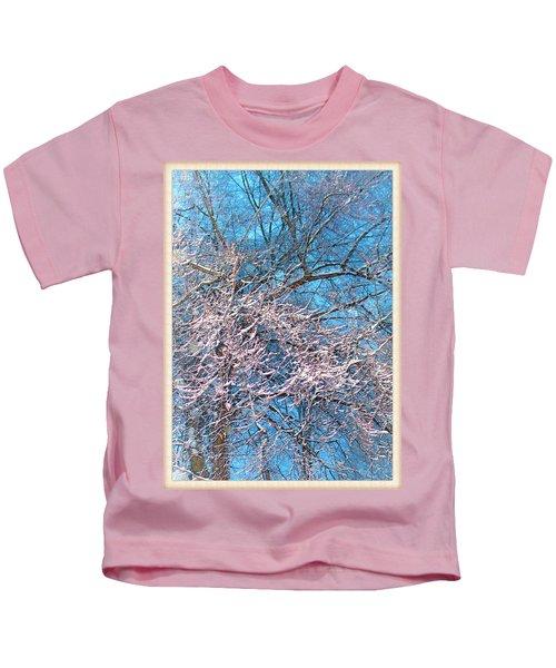 First Snow At Dawn Kids T-Shirt