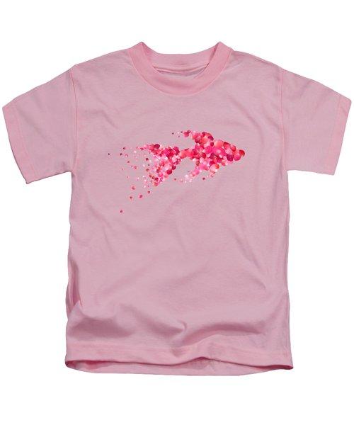 Fish Kids T-Shirt by Aloke Creative Store