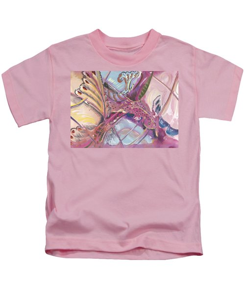 Fish Feathers Kids T-Shirt