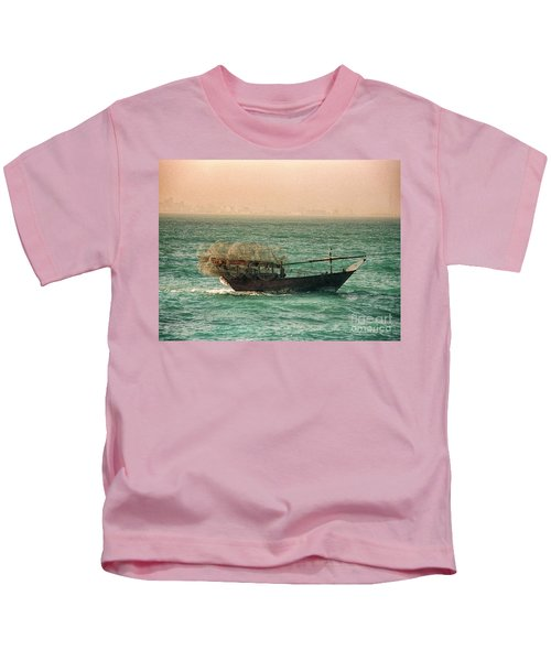 Fishing Dhow Kids T-Shirt