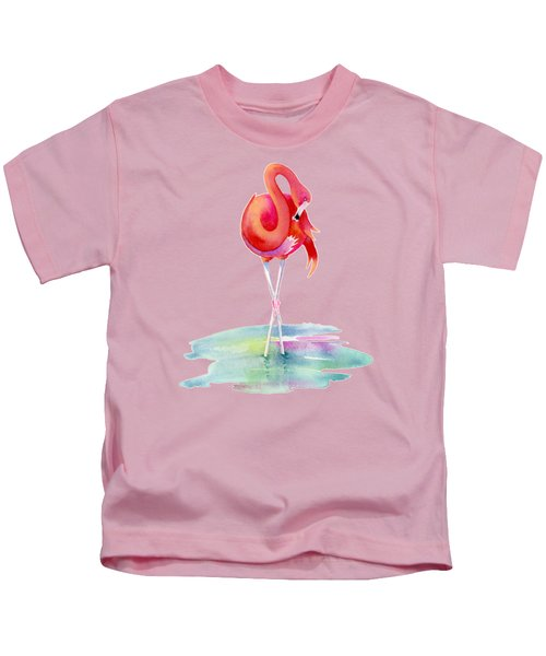 Flamingo Primp Kids T-Shirt