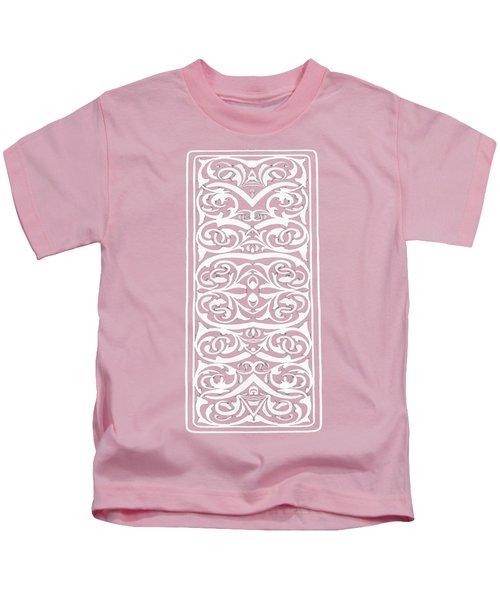 Florishes Pink Phone Case Kids T-Shirt