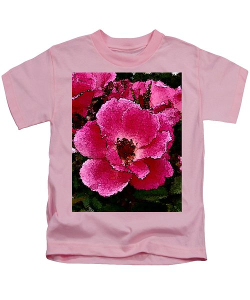 Flower Painting Collection 19 Kids T-Shirt