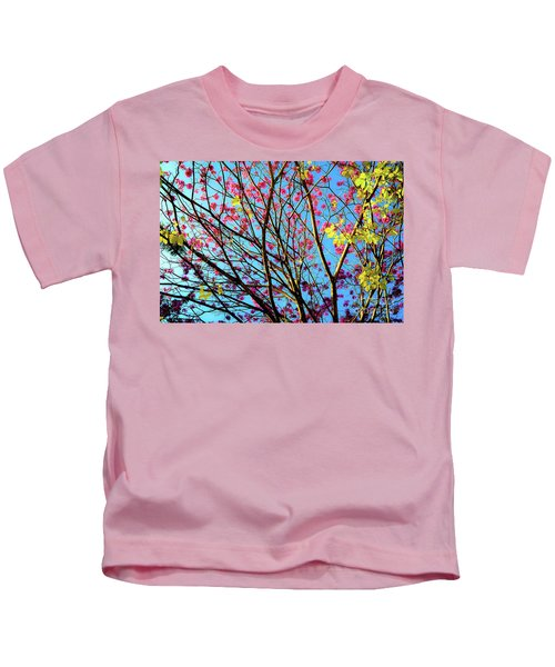 Flowers And Trees Kids T-Shirt