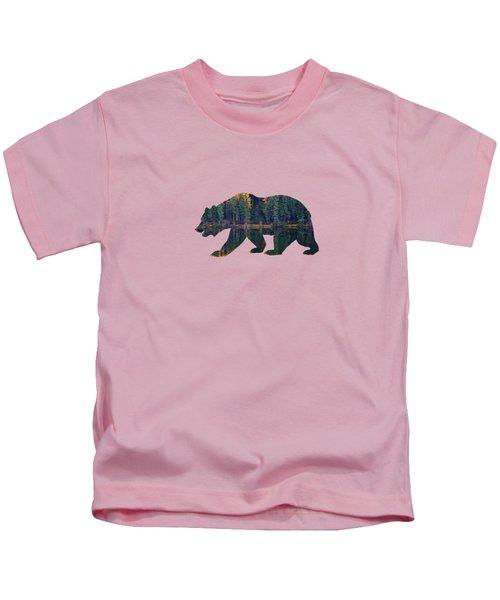 Forest Bear Kids T-Shirt