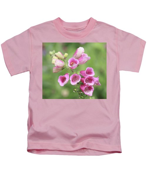 Foxgloves  Kids T-Shirt