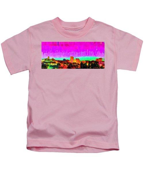 Fresno Skyline 103 - Pa Kids T-Shirt