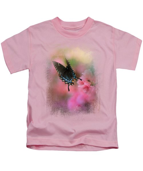 Garden Friend 1 Kids T-Shirt by Jai Johnson