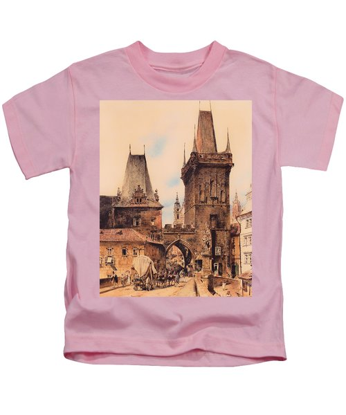 Gate To Prague Kids T-Shirt