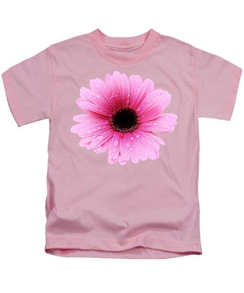 Gerbera Pink - Daisy Kids T-Shirt
