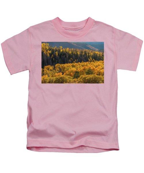 Geyser Pass Road, La Sal Mountains Kids T-Shirt
