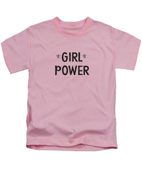 Girl Power- Design By Linda Woods Kids T-Shirt