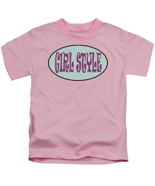 Girl Style By Camila Kids T-Shirt