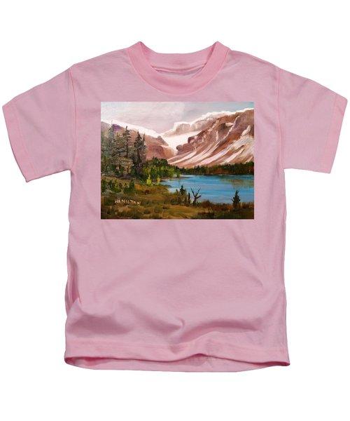 Glacier Lake Kids T-Shirt