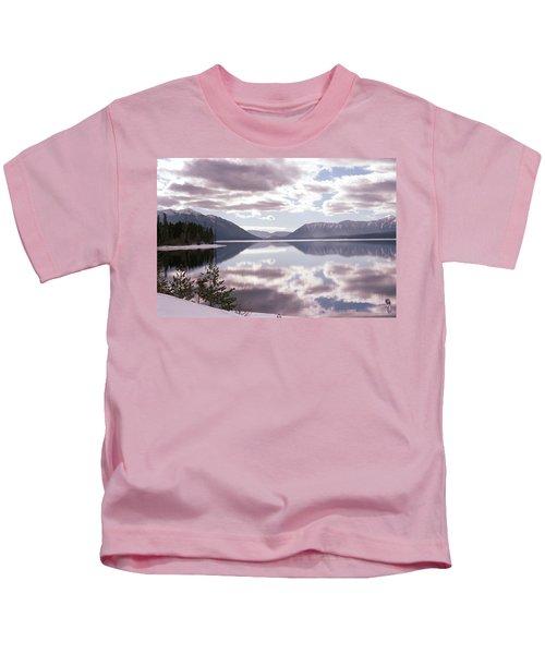 Glacier National Park 6 Kids T-Shirt