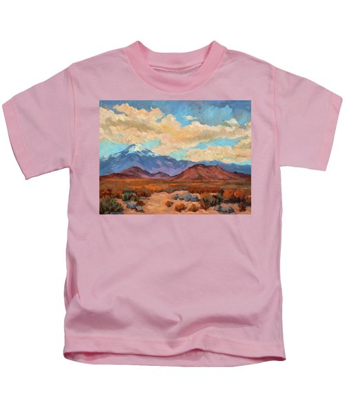 God's Creation Mt. San Gorgonio  Kids T-Shirt