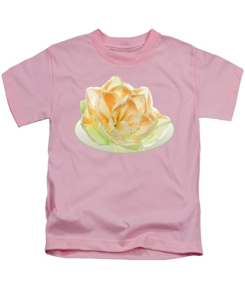Golden Amaryllis Kids T-Shirt