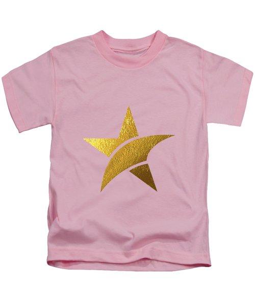 Golden Star Kids T-Shirt by BONB Creative