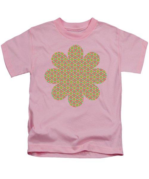 Grandma's Flowers Kids T-Shirt