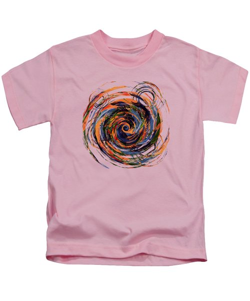 Gravity In Color Kids T-Shirt by Deborah Smith