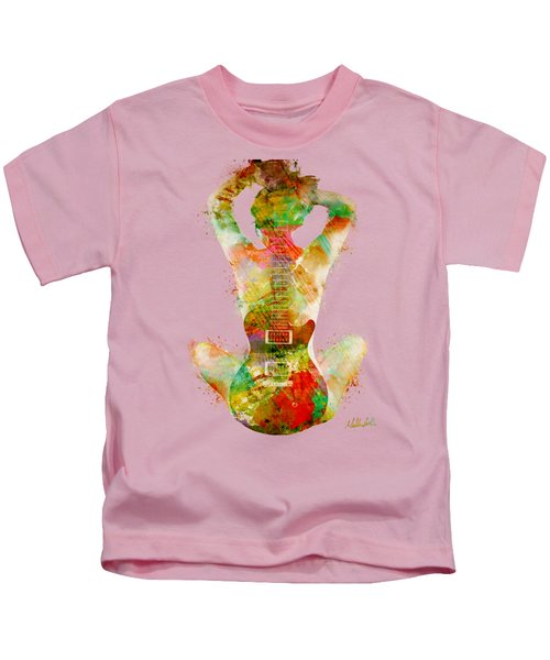 Guitar Siren Kids T-Shirt