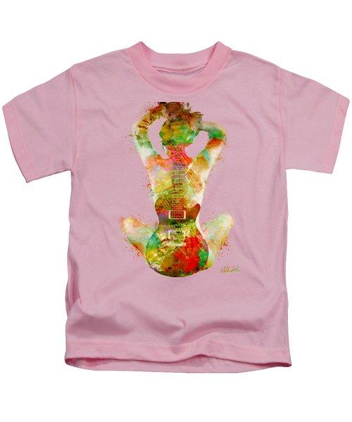 Guitar Siren Kids T-Shirt