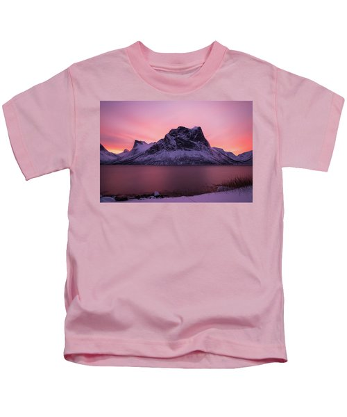 Halo In Pink Kids T-Shirt