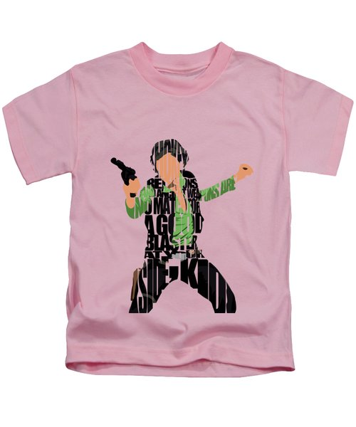 Han Solo From Star Wars Kids T-Shirt