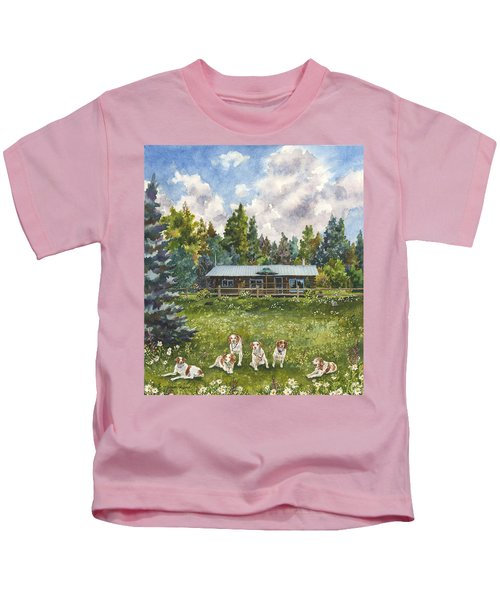 Happy Dogs Kids T-Shirt