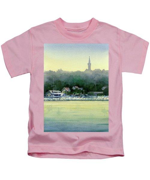 Harbor Master, Port Washington Kids T-Shirt