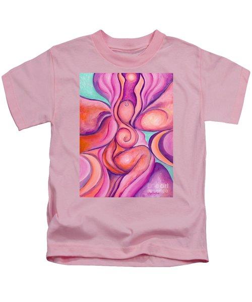 Healing Goddess Kids T-Shirt