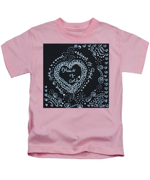 Heart Of Gold Kids T-Shirt