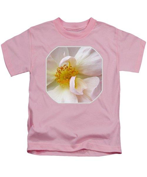 Heart Of The Rose Kids T-Shirt