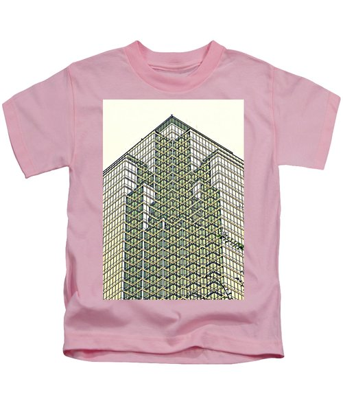 Downtown Dallas Kids T-Shirt