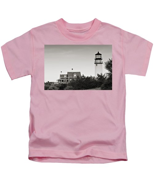 Highland Light At Cape Cod Kids T-Shirt