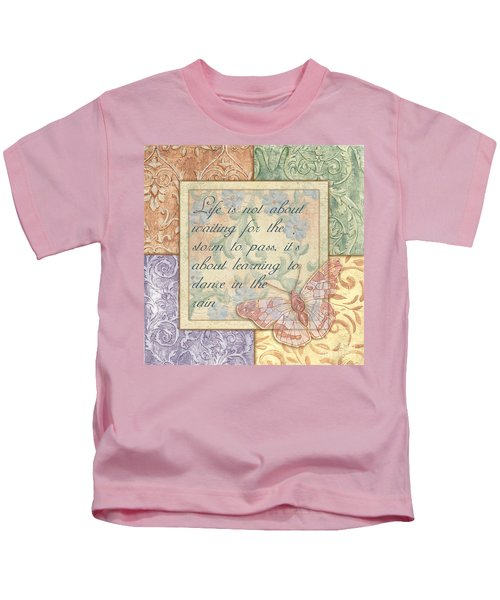 Hint Of Spring Butterfly 2 Kids T-Shirt