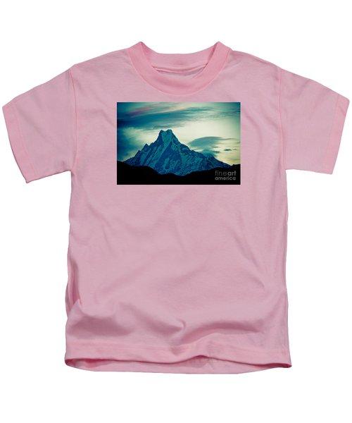 Holy Mount Fish Tail Machhapuchare 6998m Kids T-Shirt