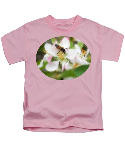 Honey Bee - Paint Kids T-Shirt