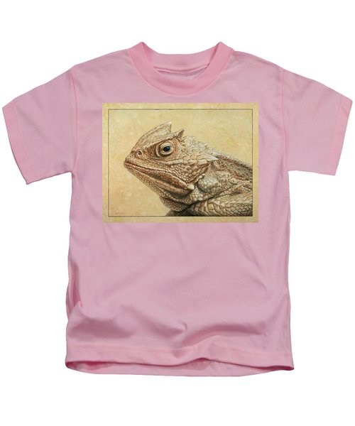 Horned Toad Kids T-Shirt
