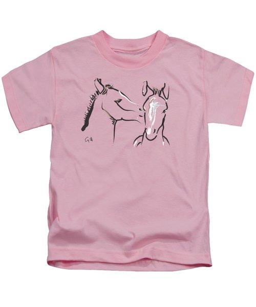 Horse-foals-together 6 Kids T-Shirt