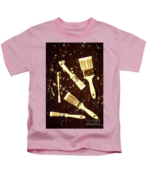 House Paint Abstract Kids T-Shirt