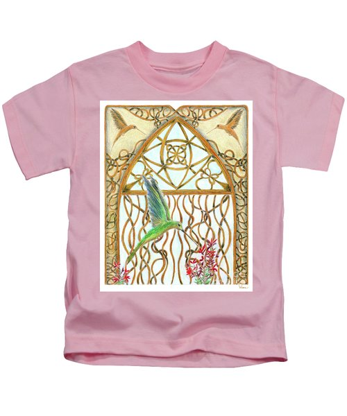 Hummingbird Sanctuary Kids T-Shirt
